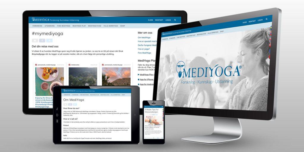 MediYoga Ny Hjemmeside
