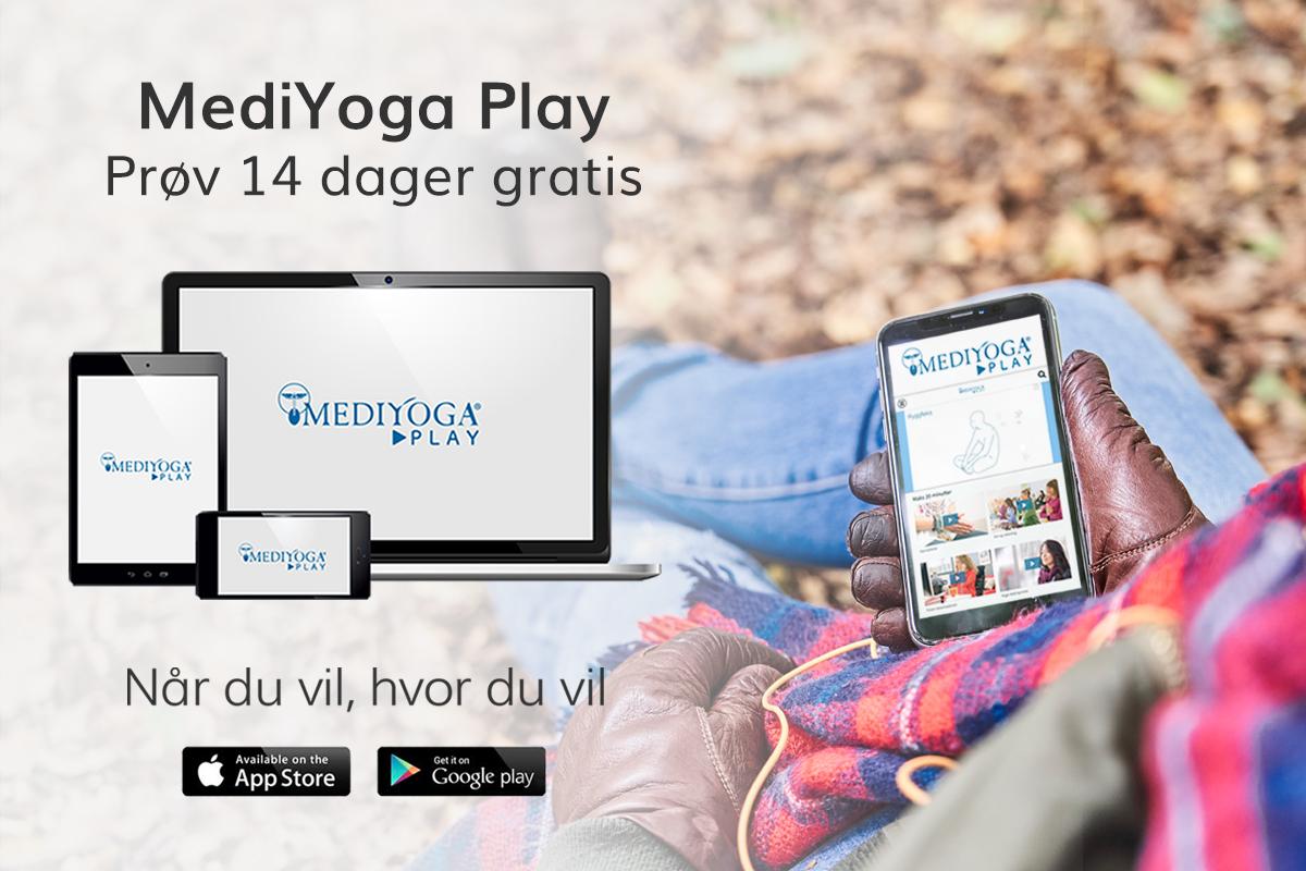 MediYoga Play - Når du vil, hvor du vil